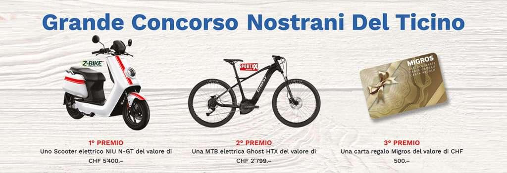 Il grande concorso Nostrani del Ticino